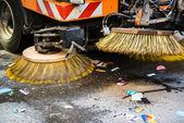 Road Sweeper — Stock Photo