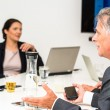 gemischte Gruppe im Business-meeting — Stockfoto #29842029