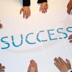 Teamwork means Success — Stock Photo #29926597