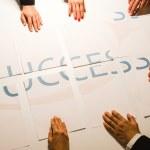 Постер, плакат: Teamwork means Success BUT