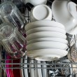 Dishwasher after cleaning process — Stock Photo