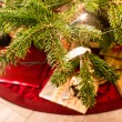 Presents under the christmas tree — Stockfoto