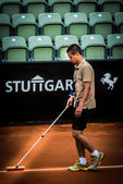 Preparation during ATP Qualification in Stuttgart, Germany — Stock Photo