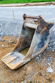 Spare shovel of an excavator — Stock Photo