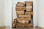 Amazon.com delivery — Stock Photo