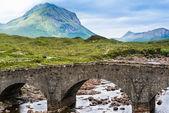Bridge at Sligachan in Scotland — Stock Photo