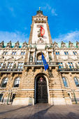 Townhall of Hamburg — Stock Photo