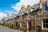 Traditional Scottish Stone Houses — Stock Photo