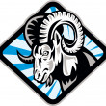 Bighorn Ram Sheep Goat — Stock Vector #11080906