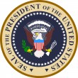 Seal of the president of the united states of america  — Stock Vector