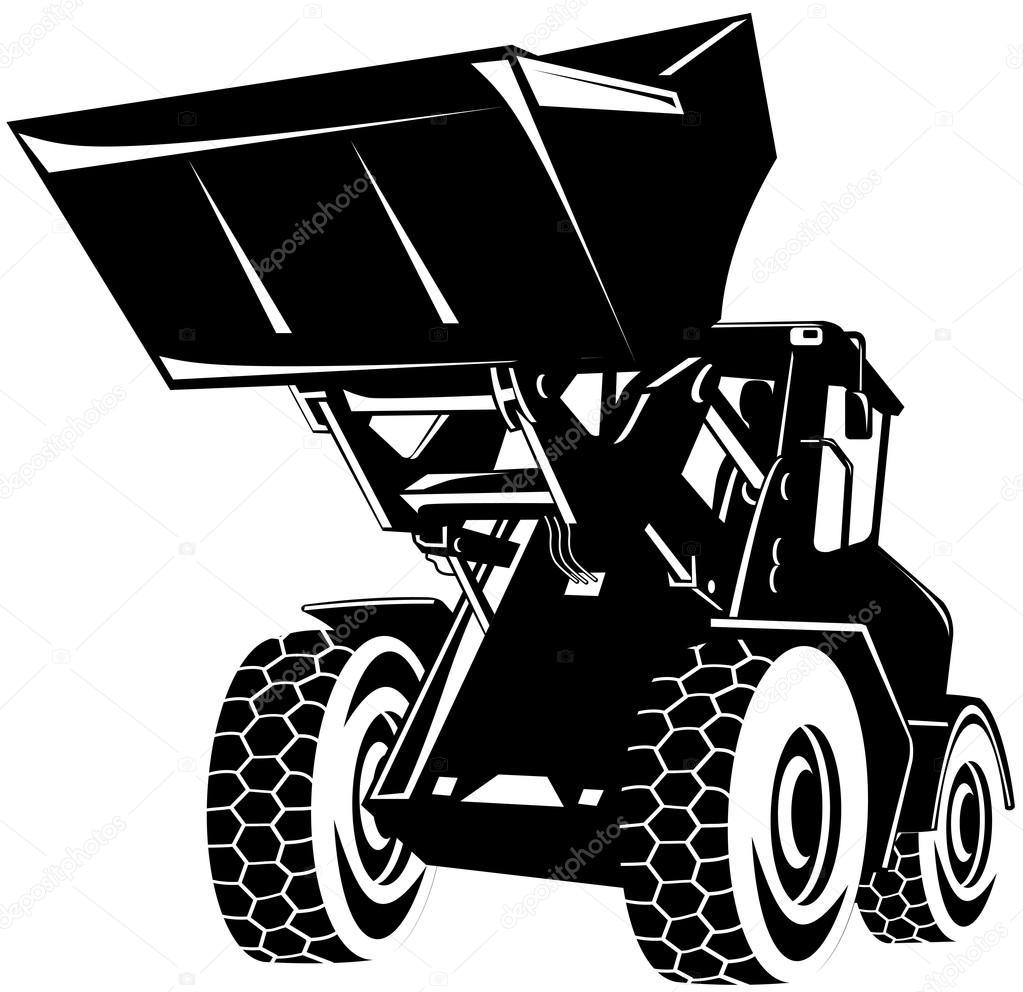 Digger grävmaskin