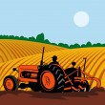 Vintage tractor — Stock Vector #27775251