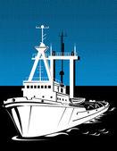 Tug boat — Stock Vector