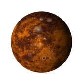 Jupiter moon callisto — Stock Photo