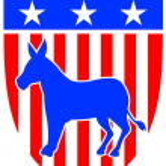Постер, плакат: Democrat Donkey Mascot