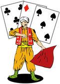 Magician — Stock Vector