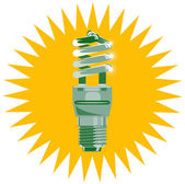 Lightbulb — Stock Vector