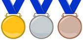 Medale — Wektor stockowy