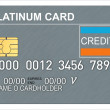 Platinum Credit Card — Stock Photo #30008299
