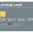 Platinum Credit Card — Stock Photo #30008651