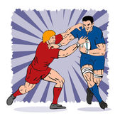 Rugby Player Tackling — Stock Photo