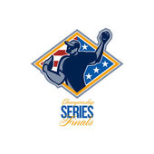 American Championship Series Finals Baseball — Stock Photo