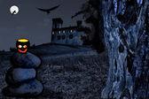 Noční scéna — Stock fotografie