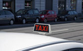 Taxi — Stock Photo