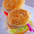 Hamburgers — Stockfoto