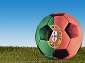 Portugalski piłkarz — Zdjęcie stockowe
