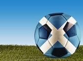 Scottish football — Stock Photo