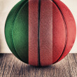 Italy basketball — Stock Photo