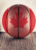 Canada basketball — Stock Photo