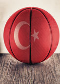 Turkey basketball — Stock Photo