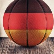 Germany basketball — Stockfoto