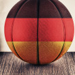 Germany basketball — Stock Photo