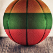 Lithuania basketball — Stock Photo