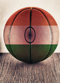 India basketball — Stock Photo