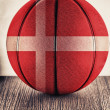 Denmark basketball — 图库照片