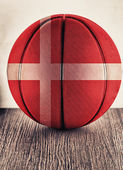 Denmark basketball — Stock Photo
