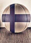 Finland basketball — Stock Photo