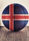 Iceland basketball — Stock Photo
