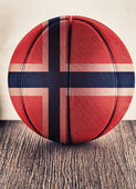 Norway basketball — Stock Photo