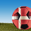 Denmark football — Stock Photo