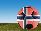 Norway football — Stock Photo