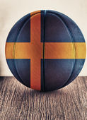 Sweden basketball — Stock Photo