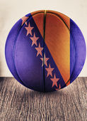 Bosnia Herzegovina basketball — Stock Photo