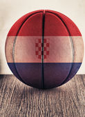 Croatia basketball — Stock Photo