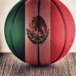 Mexico basketball — Stock Photo