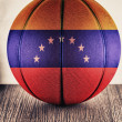 Venezuela basketball — Stock Photo